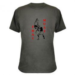 Камуфляжная футболка Muay Thai Jump - FatLine