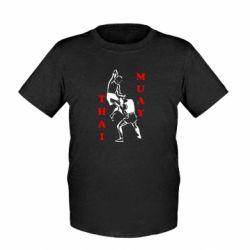 Детская футболка Muay Thai Jump - FatLine