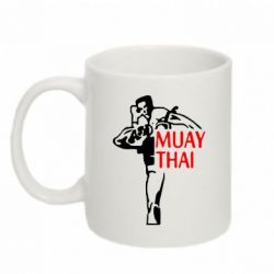 Кружка 320ml Muay Thai kick
