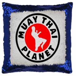 Подушка-хамелеон Muay Thai Planet