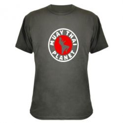 Камуфляжная футболка Muay Thai Planet - FatLine