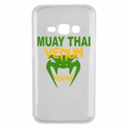 Чехол для Samsung J1 2016 Muay Thai Venum Fighter