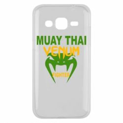 Чехол для Samsung J2 2015 Muay Thai Venum Fighter