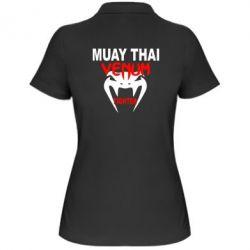 Женская футболка поло Muay Thai Venum Fighter - FatLine
