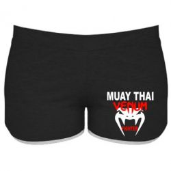 Женские шорты Muay Thai Venum Fighter - FatLine