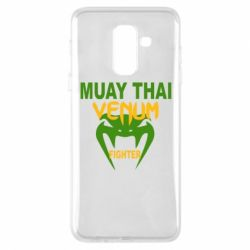 Чехол для Samsung A6+ 2018 Muay Thai Venum Fighter