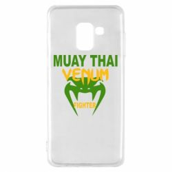 Чехол для Samsung A8 2018 Muay Thai Venum Fighter