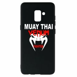 Чехол для Samsung A8+ 2018 Muay Thai Venum Fighter