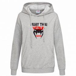 Женская толстовка Muay Thai Venum Fighter - FatLine