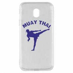 Чохол для Samsung J3 2017 Muay Thai