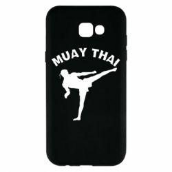 Чохол для Samsung A7 2017 Muay Thai