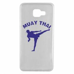 Чохол для Samsung A7 2016 Muay Thai