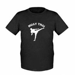 Детская футболка Muay Thai - FatLine