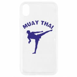 Чехол для iPhone XR Muay Thai