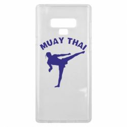 Чехол для Samsung Note 9 Muay Thai