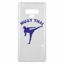 Чохол для Samsung Note 9 Muay Thai