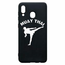 Чохол для Samsung A20 Muay Thai