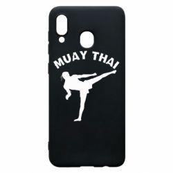 Чохол для Samsung A30 Muay Thai