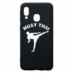 Чохол для Samsung A40 Muay Thai