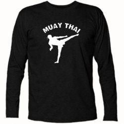 Футболка с длинным рукавом Muay Thai - FatLine