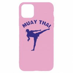 Чехол для iPhone 11 Pro Muay Thai
