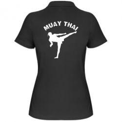 Женская футболка поло Muay Thai - FatLine