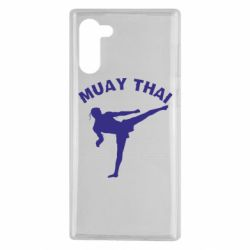Чехол для Samsung Note 10 Muay Thai