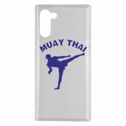 Чохол для Samsung Note 10 Muay Thai