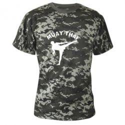 Камуфляжная футболка Muay Thai - FatLine