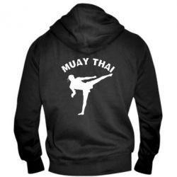 Мужская толстовка на молнии Muay Thai - FatLine