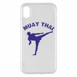 Чехол для iPhone X/Xs Muay Thai