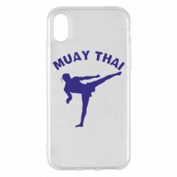 Чохол для iPhone X/Xs Muay Thai