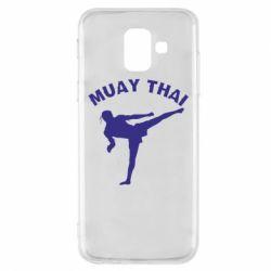 Чохол для Samsung A6 2018 Muay Thai
