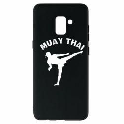 Чохол для Samsung A8+ 2018 Muay Thai