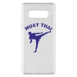 Чехол для Samsung Note 8 Muay Thai