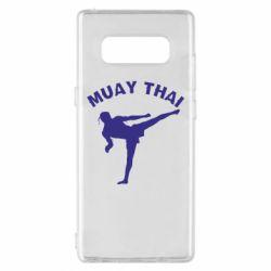 Чохол для Samsung Note 8 Muay Thai