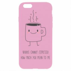 Чохол для iPhone 6/6S Mug smile
