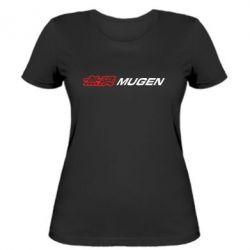 Женская футболка Mugen Logo - FatLine