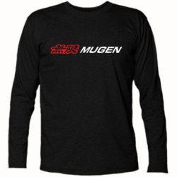Футболка с длинным рукавом Mugen Logo - FatLine