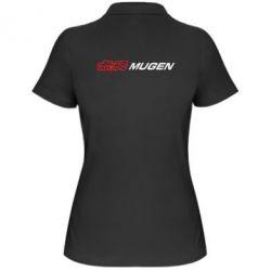Женская футболка поло Mugen Logo - FatLine