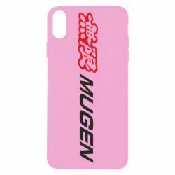 Чохол для iPhone X/Xs Mugen Logo