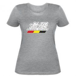 Женская футболка Mugen Power - FatLine