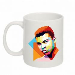 Кружка 320ml Muhammad Ali Art - FatLine