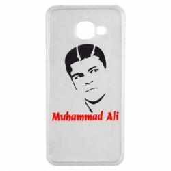 Чехол для Samsung A3 2016 Muhammad Ali
