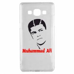 Чехол для Samsung A5 2015 Muhammad Ali