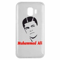 Чехол для Samsung J2 2018 Muhammad Ali