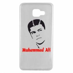 Чехол для Samsung A7 2016 Muhammad Ali