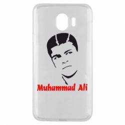Чехол для Samsung J4 Muhammad Ali