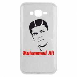 Чехол для Samsung J7 2015 Muhammad Ali
