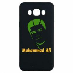 Чехол для Samsung J7 2016 Muhammad Ali